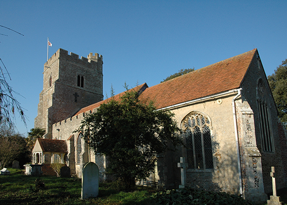 East Mersea Church